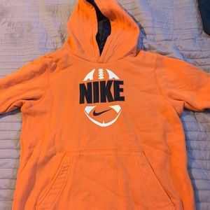 Nike Football Hoodie Sweatshirts Youth Large